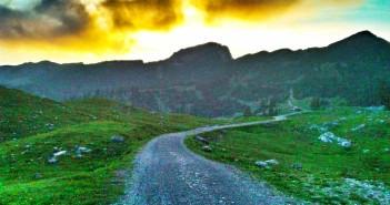 Mountainbike Tour bei Eschenlohe: Hinauf zur Kuhalm