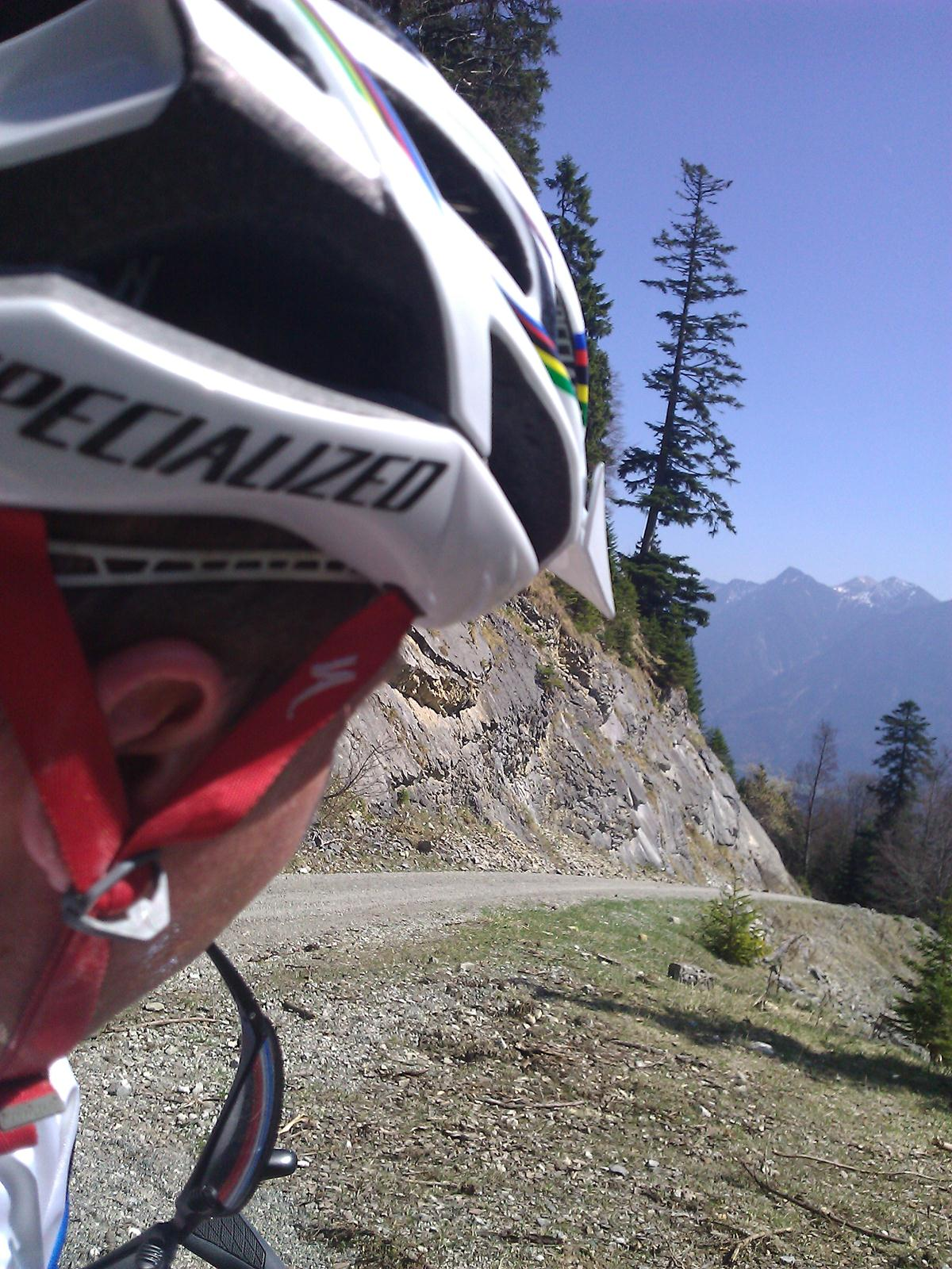 Biken in den bayrischen Alpen zur Enningalm