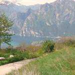 Biken am Gardasee: Elmar Moser legte vor, wir fahren nach