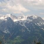 Mountainbike am Watzmann in den Berchtesgadener Alpen