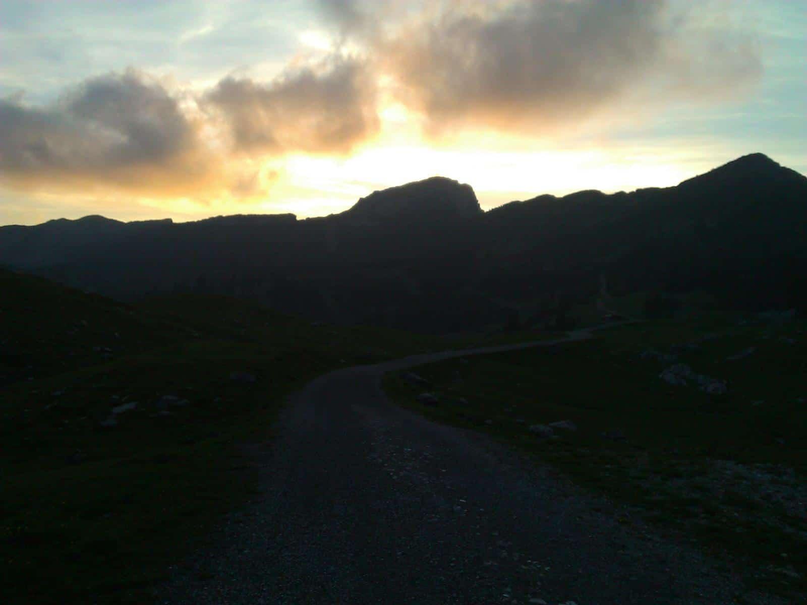 Mountainbiketour zur Kuhalm im Estergebirge