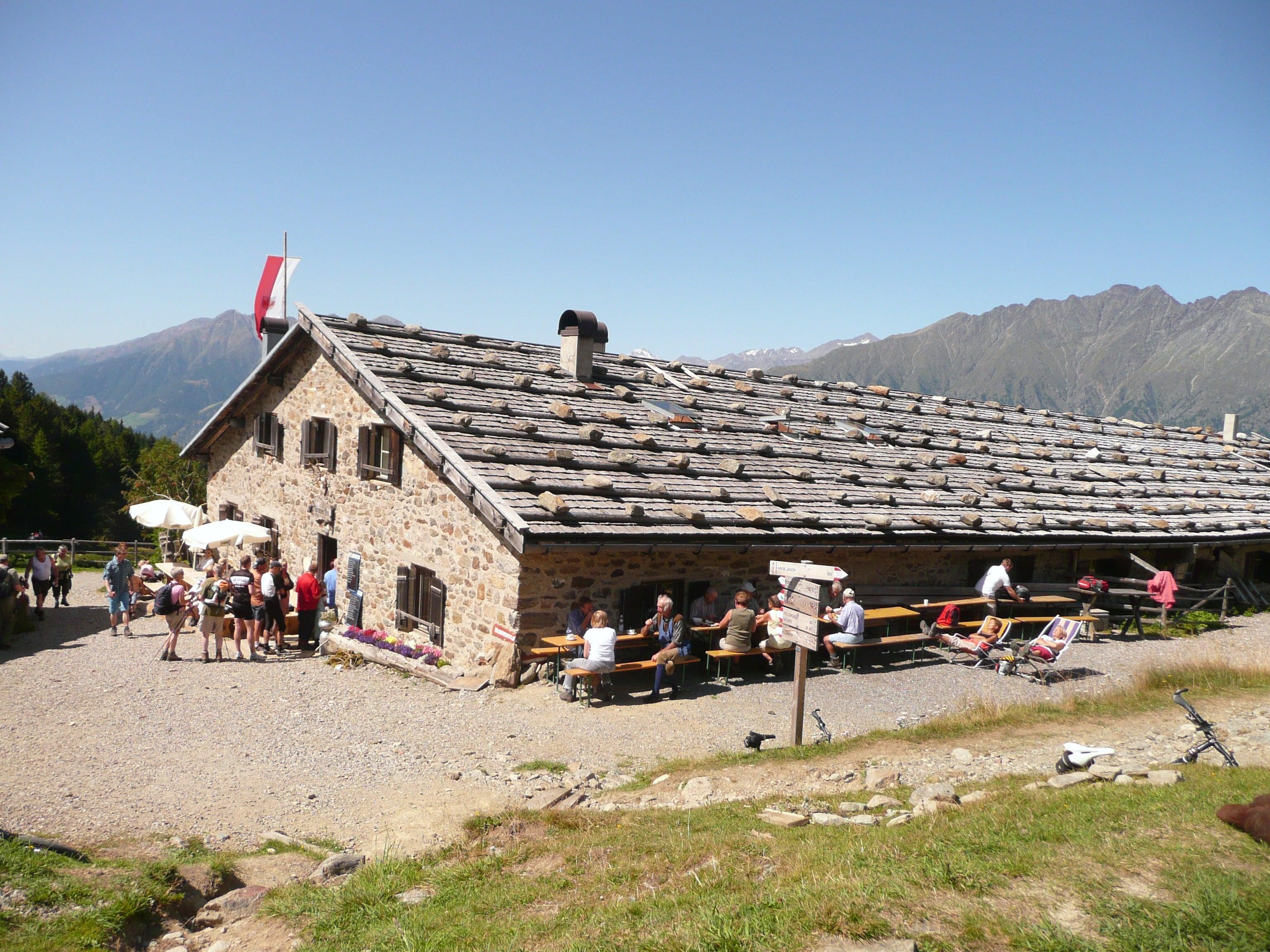 Radtour im Vinschgau - zur Naturnser Alm