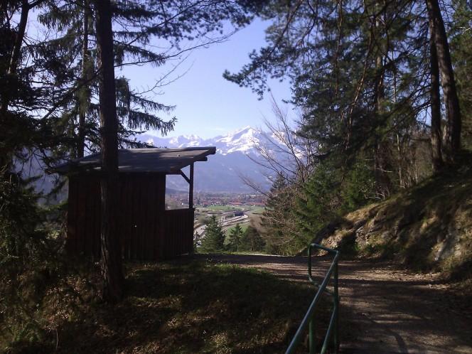 Auffahrt von Oberau zur Enningalm