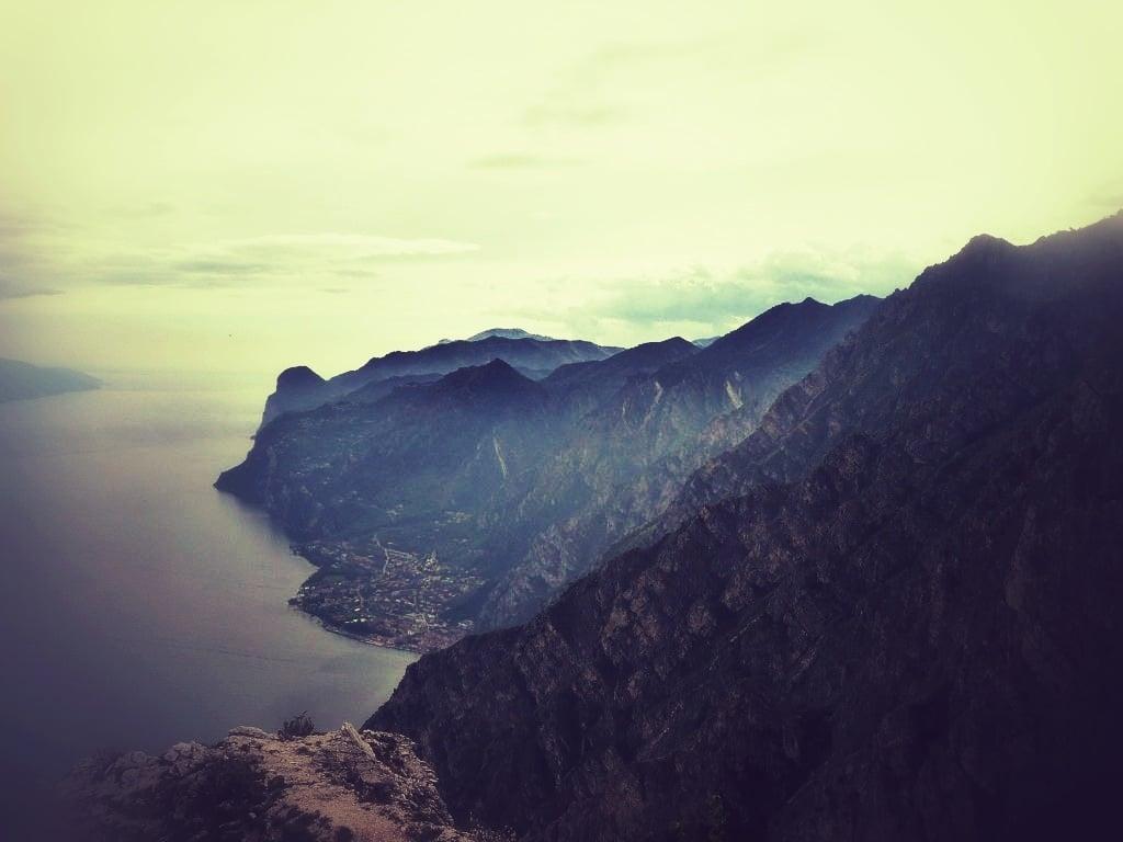 Biken am Gardasee. Klassiker hinauf zum Tremalzopass