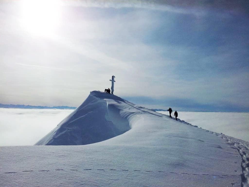 Winterwanderung auf den Hochgern