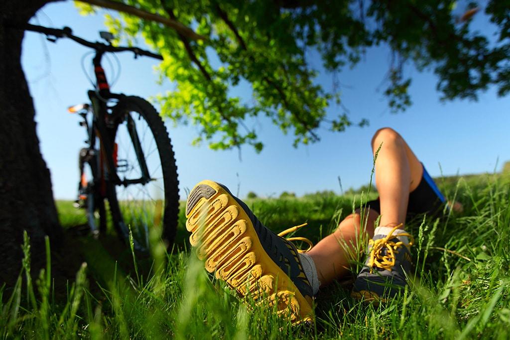 Der Weg ist das Ziel: Pausen kann man jederzeit entlang der Strecke oder in Gasthäusern einlegen