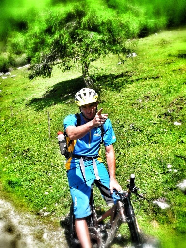 Gabriel - Immer mit Durchblick in den Alpen unterwegs