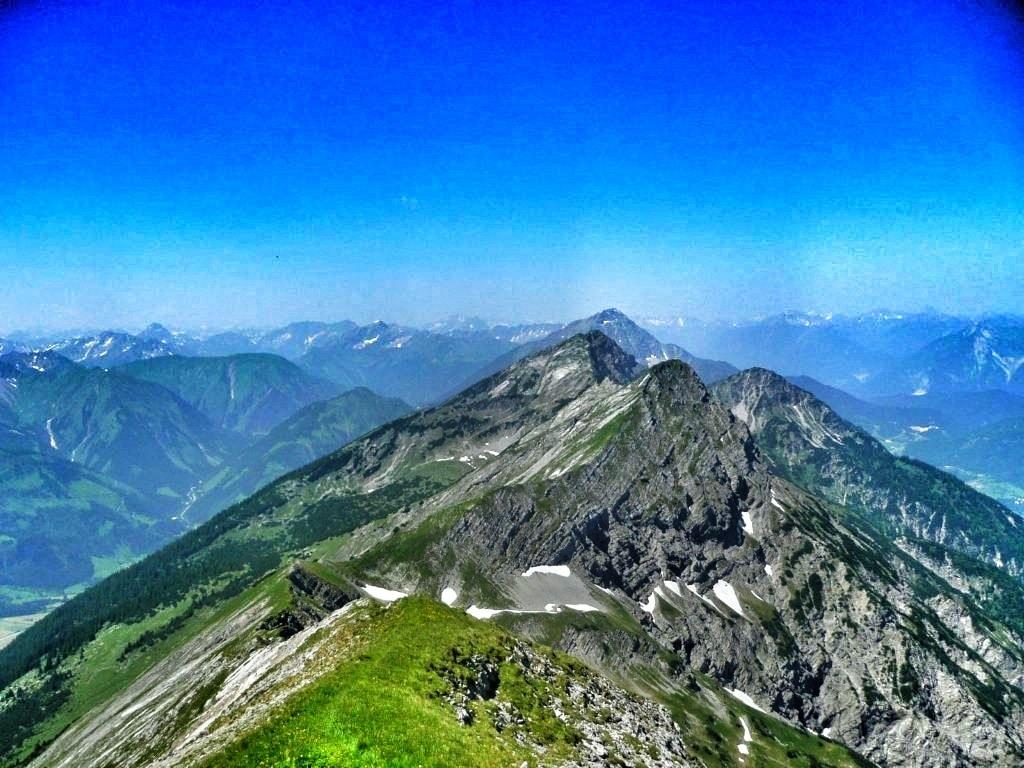 Wandern in Tirol: Bergtour zur Hochschrutte