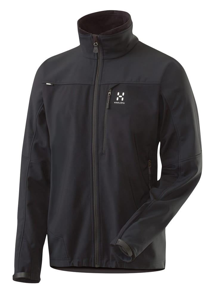 Funktionelle und vielseitige Softshell-Jacke mit Gore Windstopper