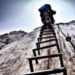 Alpspitze Klettersteig: Klettersteig im Wettersteingebirge