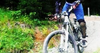 Vier Strecken, optimaler Zustand: Bike Parc