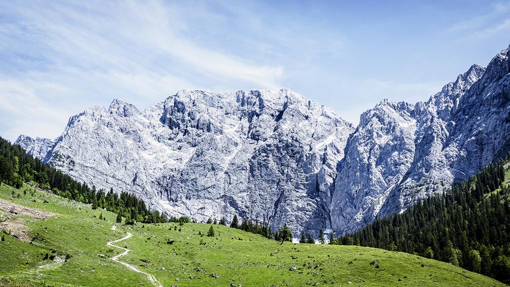 Wetterstein:Traumgebirge im Süden von Deutschland