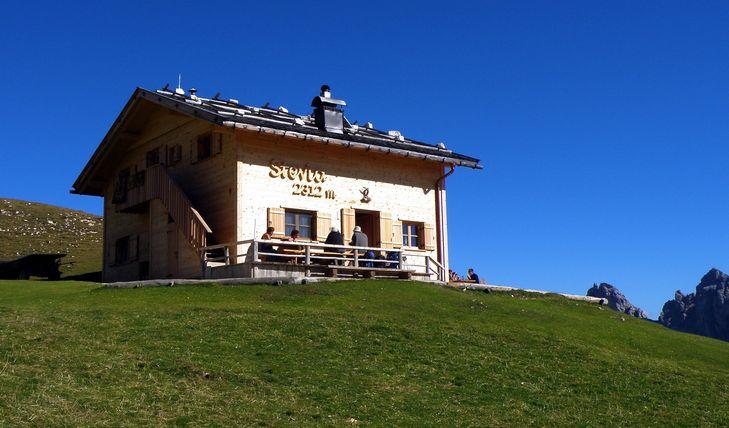 Bergwandern in Südtirol: Hinauf zur Überetscher Hütte
