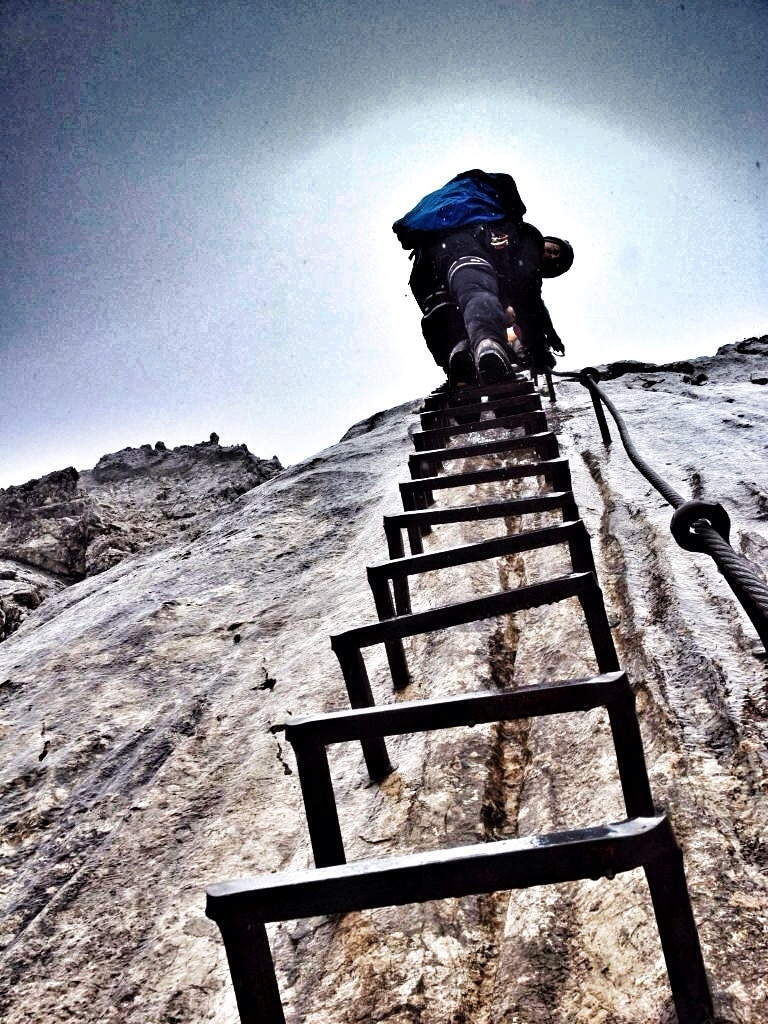 Klettersteig Alpspitz Ferrata