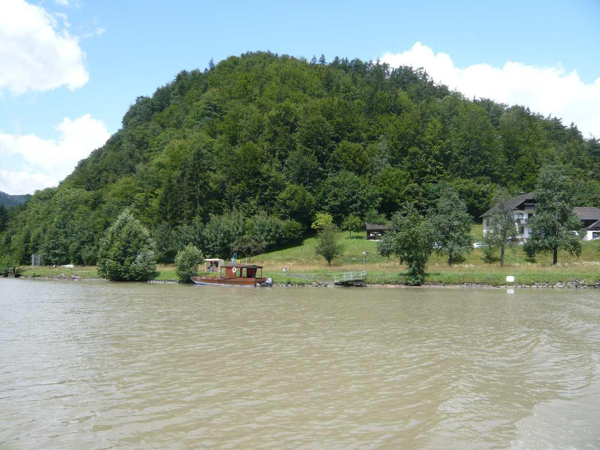 Der Donauradweg