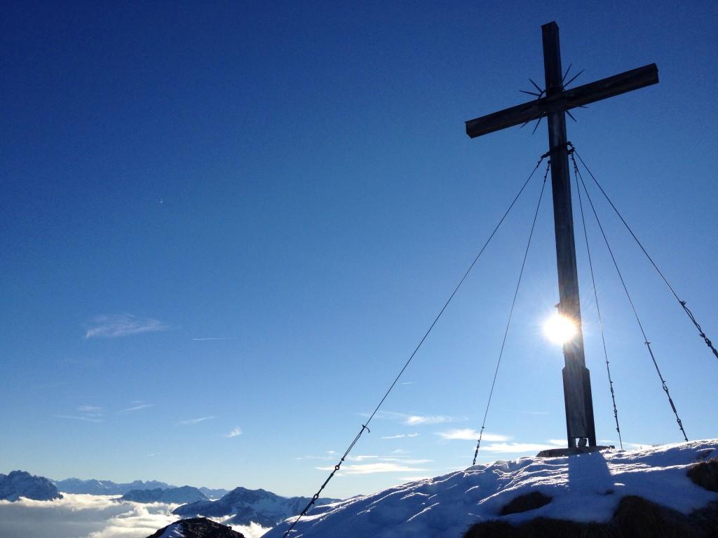 Wandern in den Ammergauer Alpen: Die Kreutzspitze