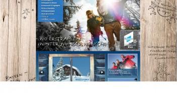 Informationsportal mit Infos über sämtliche Wintersportgebiete