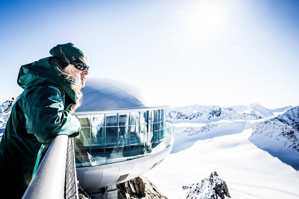 Blick auf den Pitztaler Gletscher
