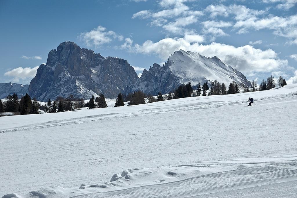 Hochtour in den Alpen