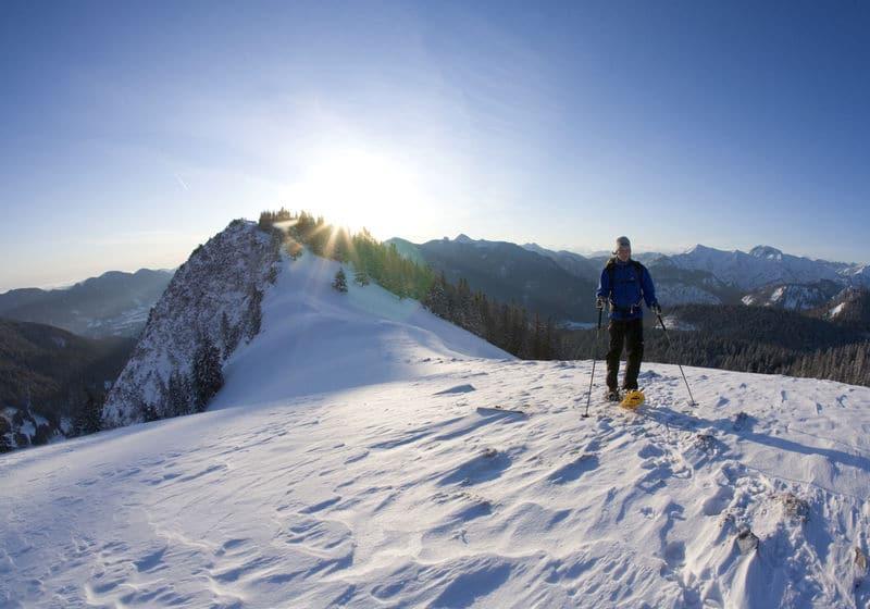 Skitour auf den Hirschberg bei Wildbad Kreuth