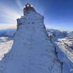 Matterhorn – hochauflösender Panorama-Flug