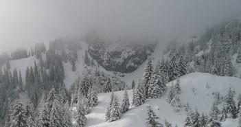 Wandern in Bayern - Blick von der Brunnsteinhütte