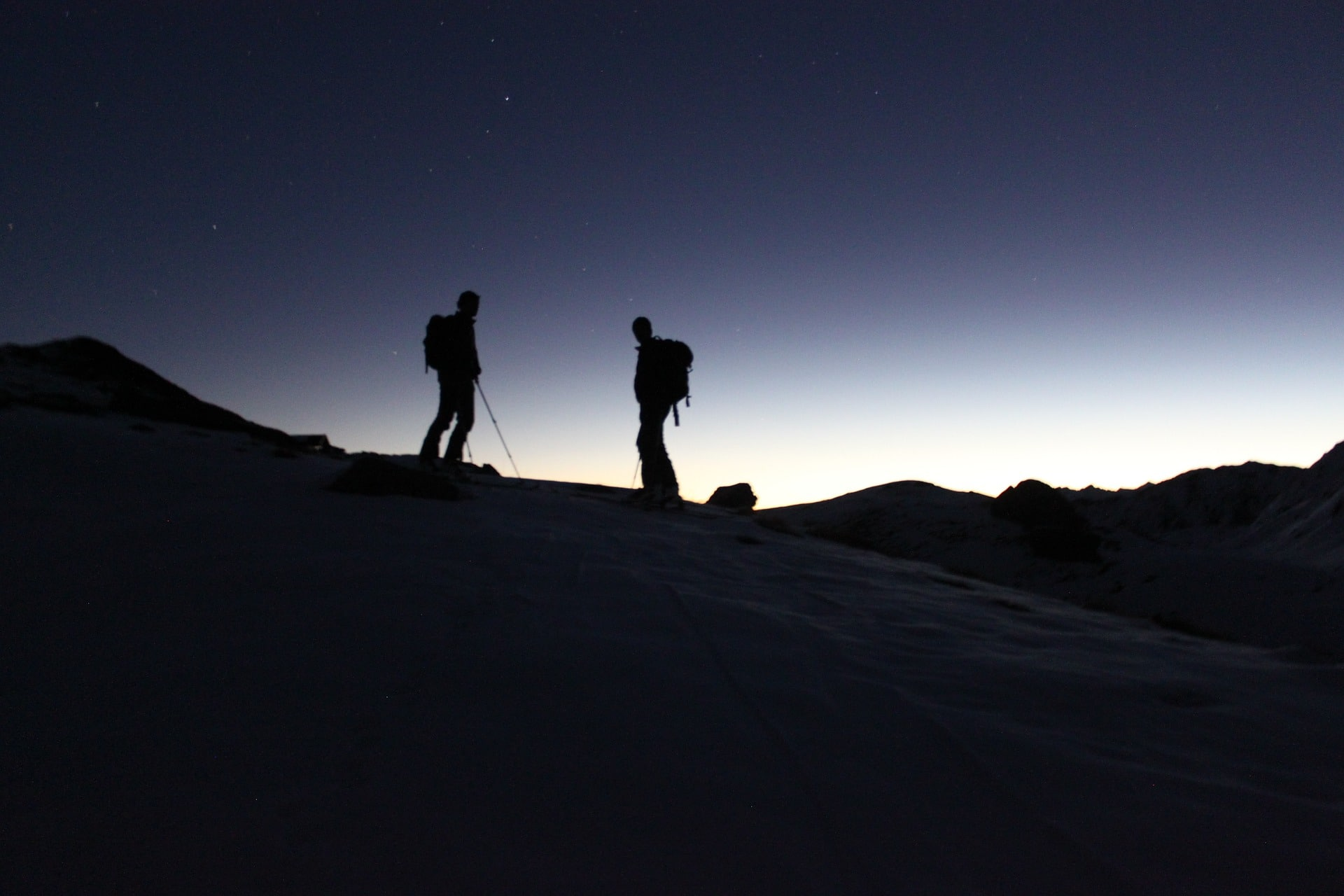 Nachtskitour in Bayern