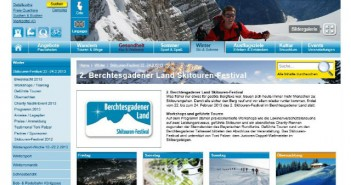Festival für Skitourengeher in Berchtesgaden
