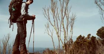 Ivo Meier beim Aufstieg zum Mount Kenya