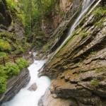 Urlaub Berchtesgaden: Durch die Wimbachklamm zum Wimbachgries