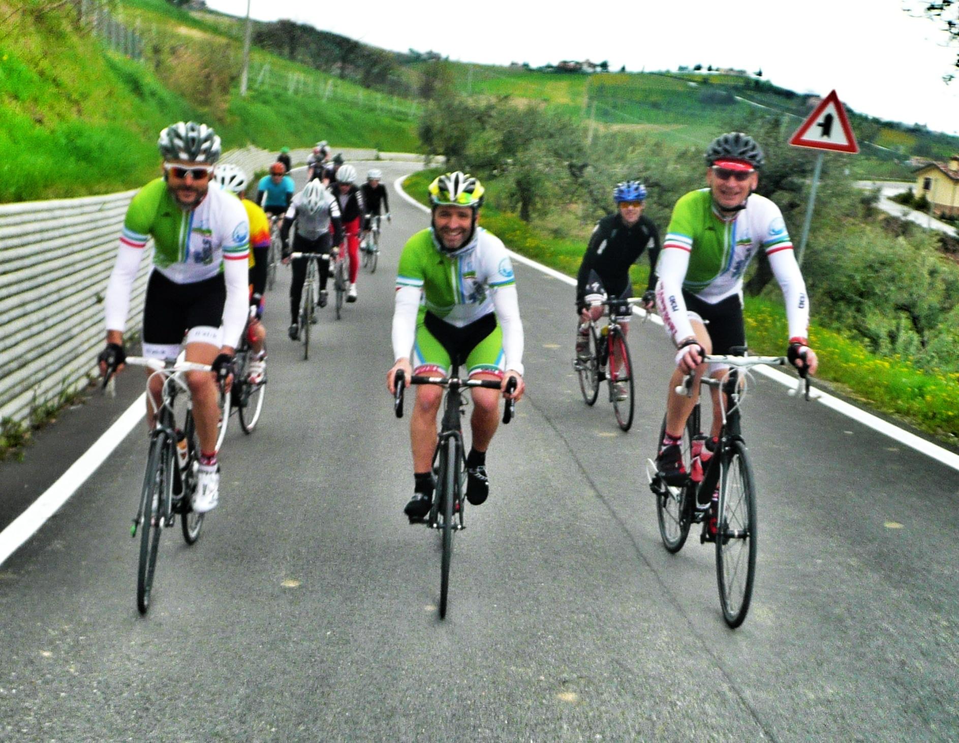 Andrea, Daniele et Ole: Drei Guides der Rimini Bike Hotels
