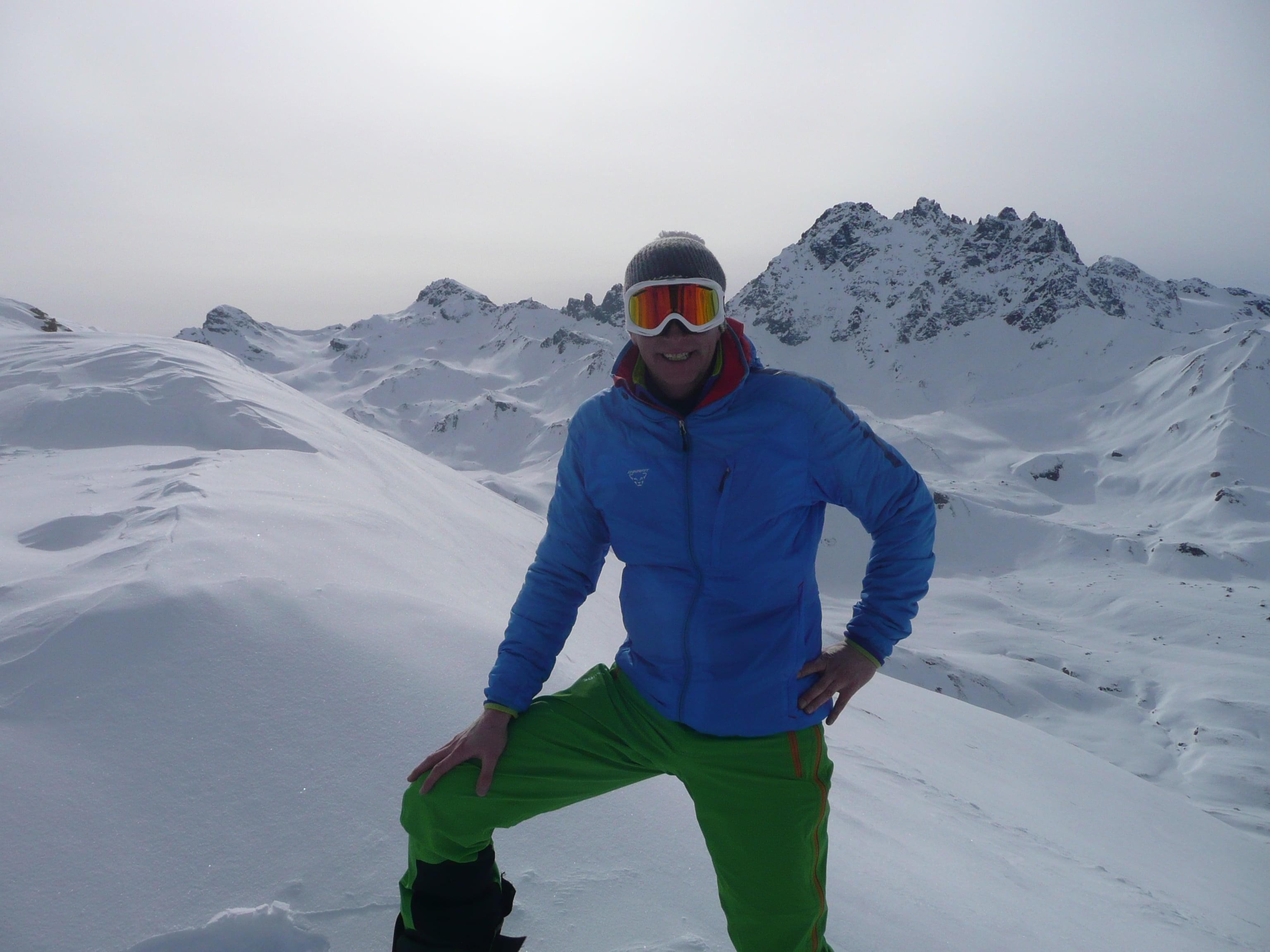 Skitour von der Heidelberger Hütte zum Ritzenjoch