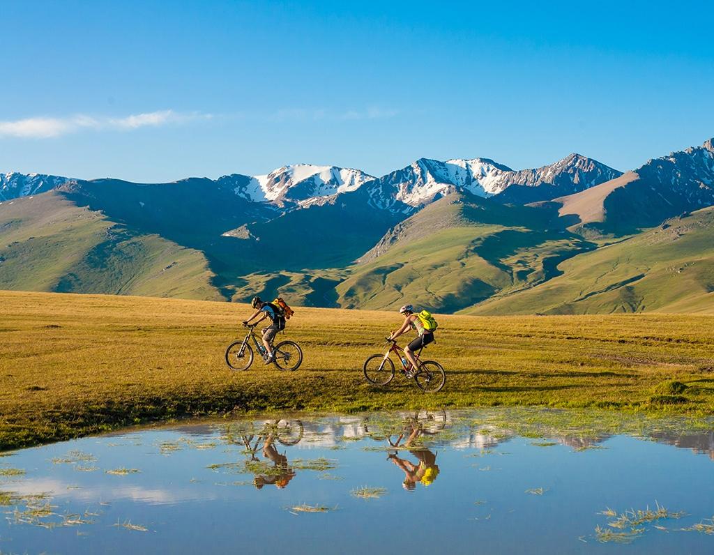 Fünf Traumpässe in den Alpen für Mountainbiker: Der Fimberpass