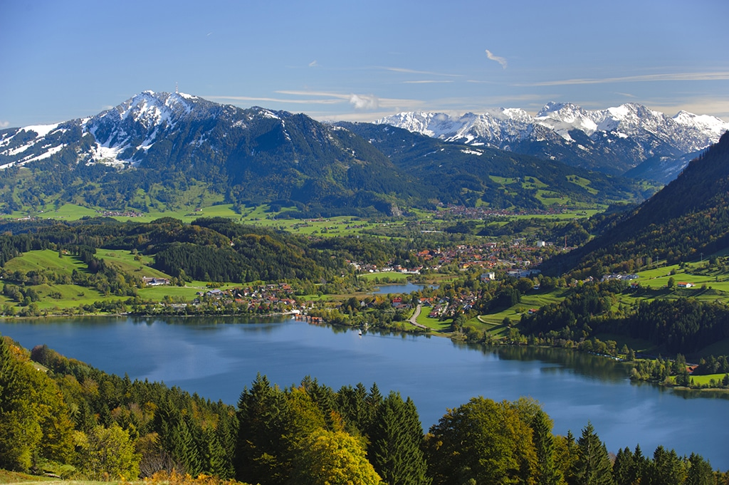 Mountainbike im Berchtesgadener Land am Hochries