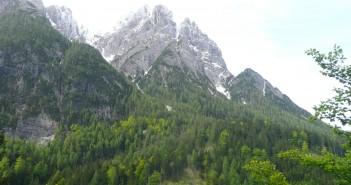 Bergwanderung in Osttirol: Zur Dolomiten Hütte