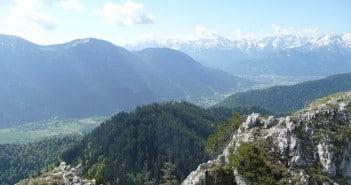 Bergwanderung zum Ettaler Manndl - einem der schönsten Hausberge der Münchener