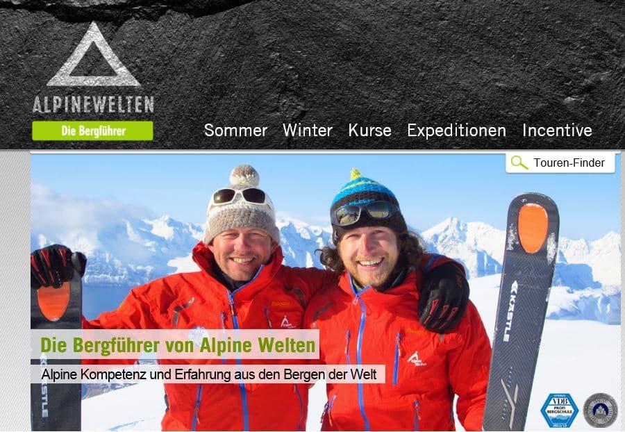 Bergschule Alpine Welten - Die Bergührer