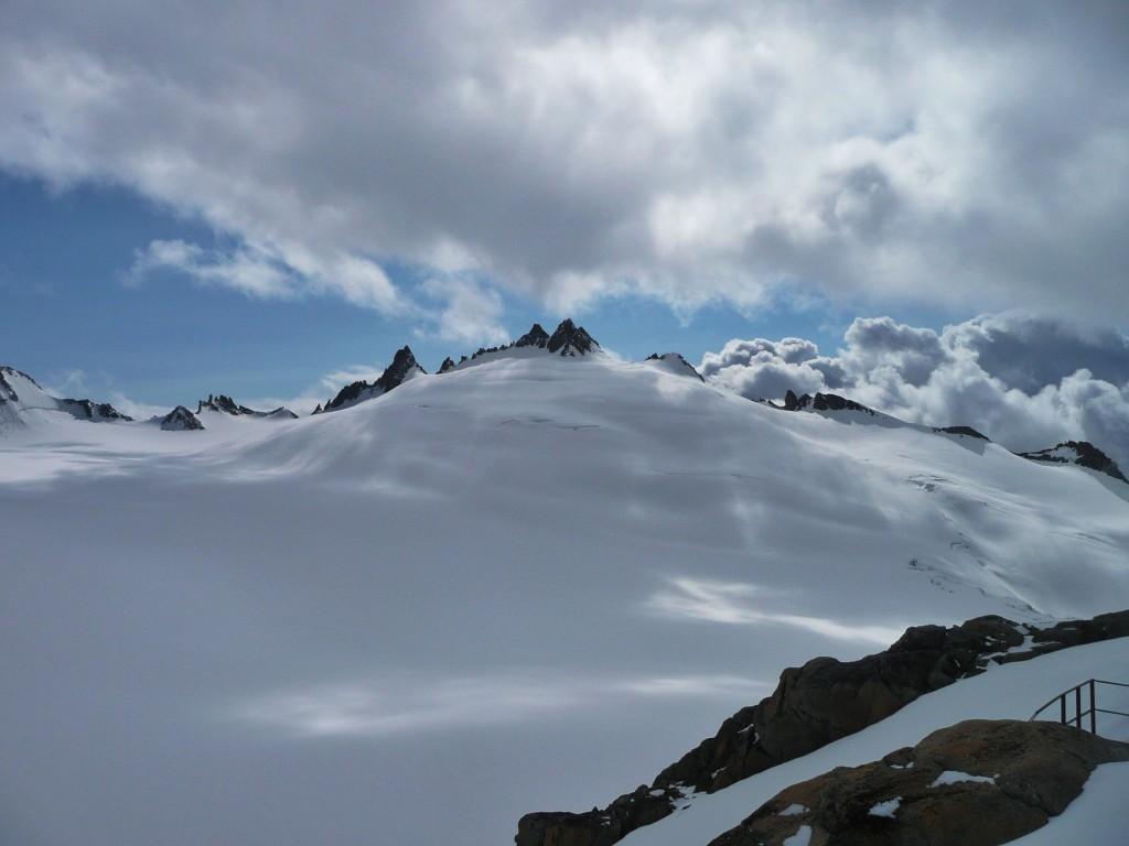 Mont Blanc - Blick von der Cabane du Trient