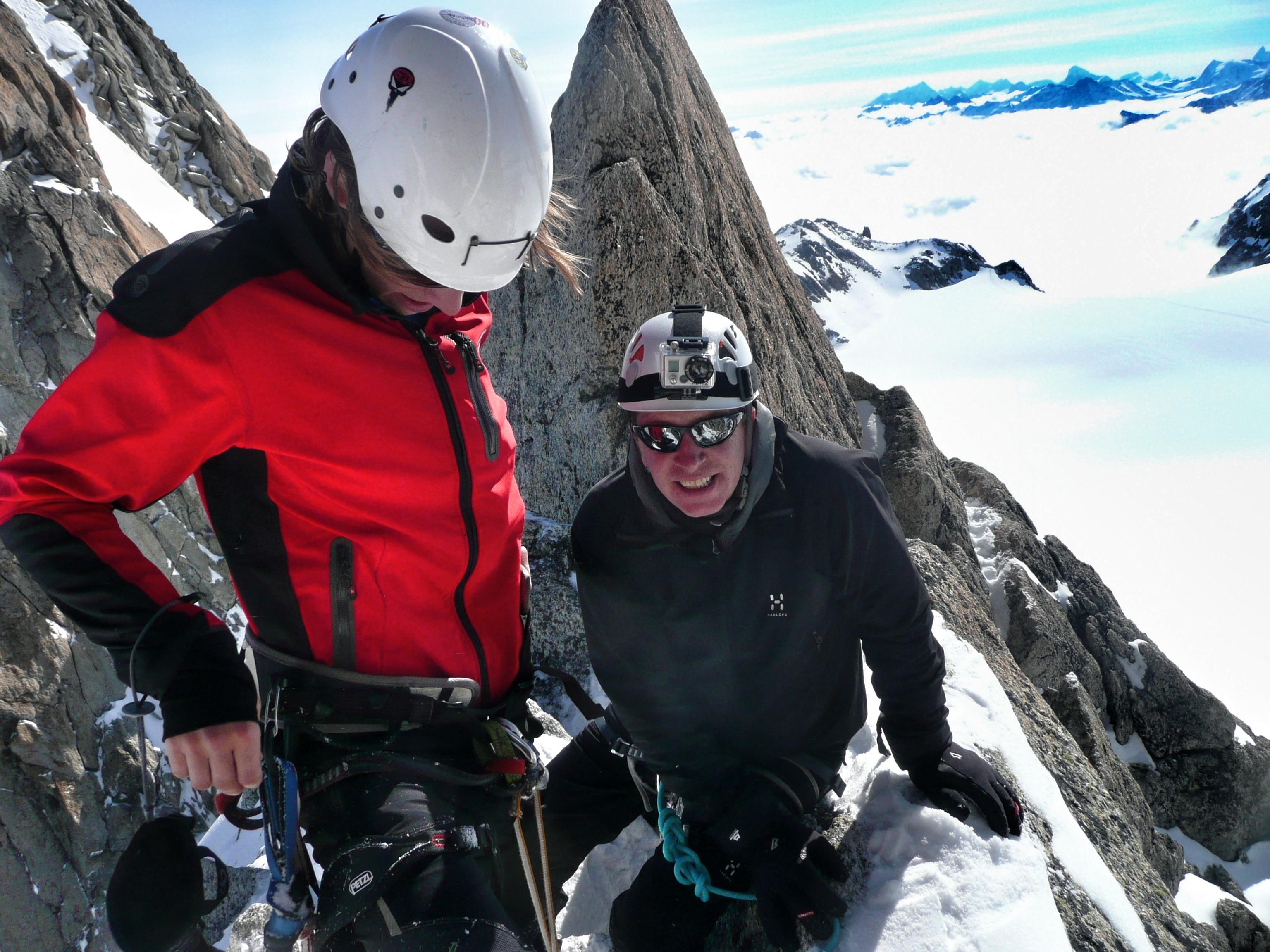 Mont Blanc - auf die Agiulle de Tour