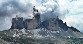 Die Drei Zinnen in den Sextener Dolomiten