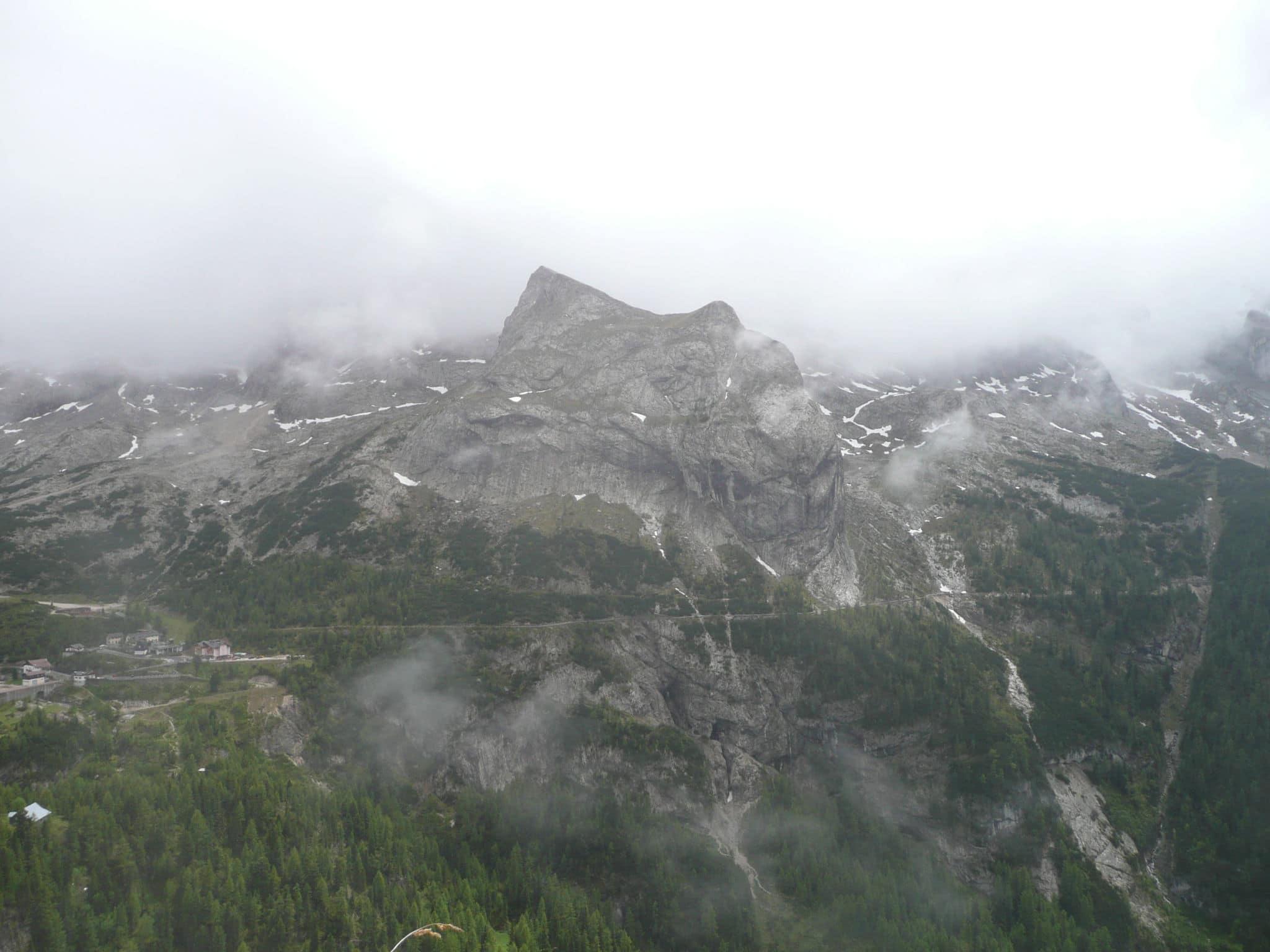 Mountainbike in den Dolomiten