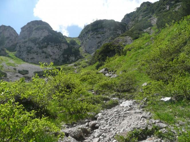 Mountainbike in den Kitzbühler Alpen: Zum Brecherhornhaus