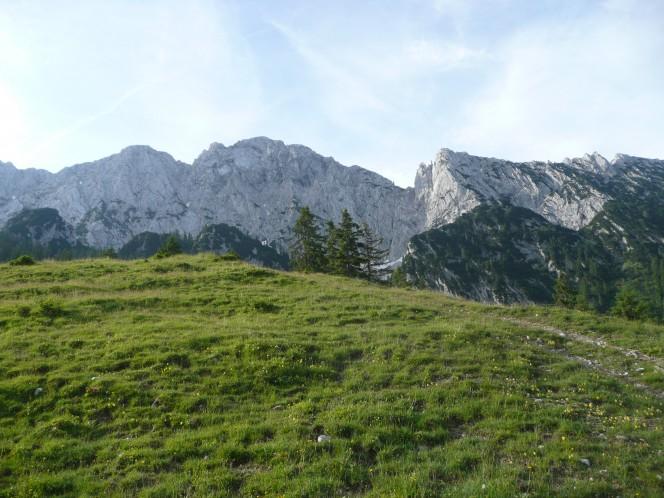 Mountainbike in den Kitzbühler Alpen zur Hohen Salve
