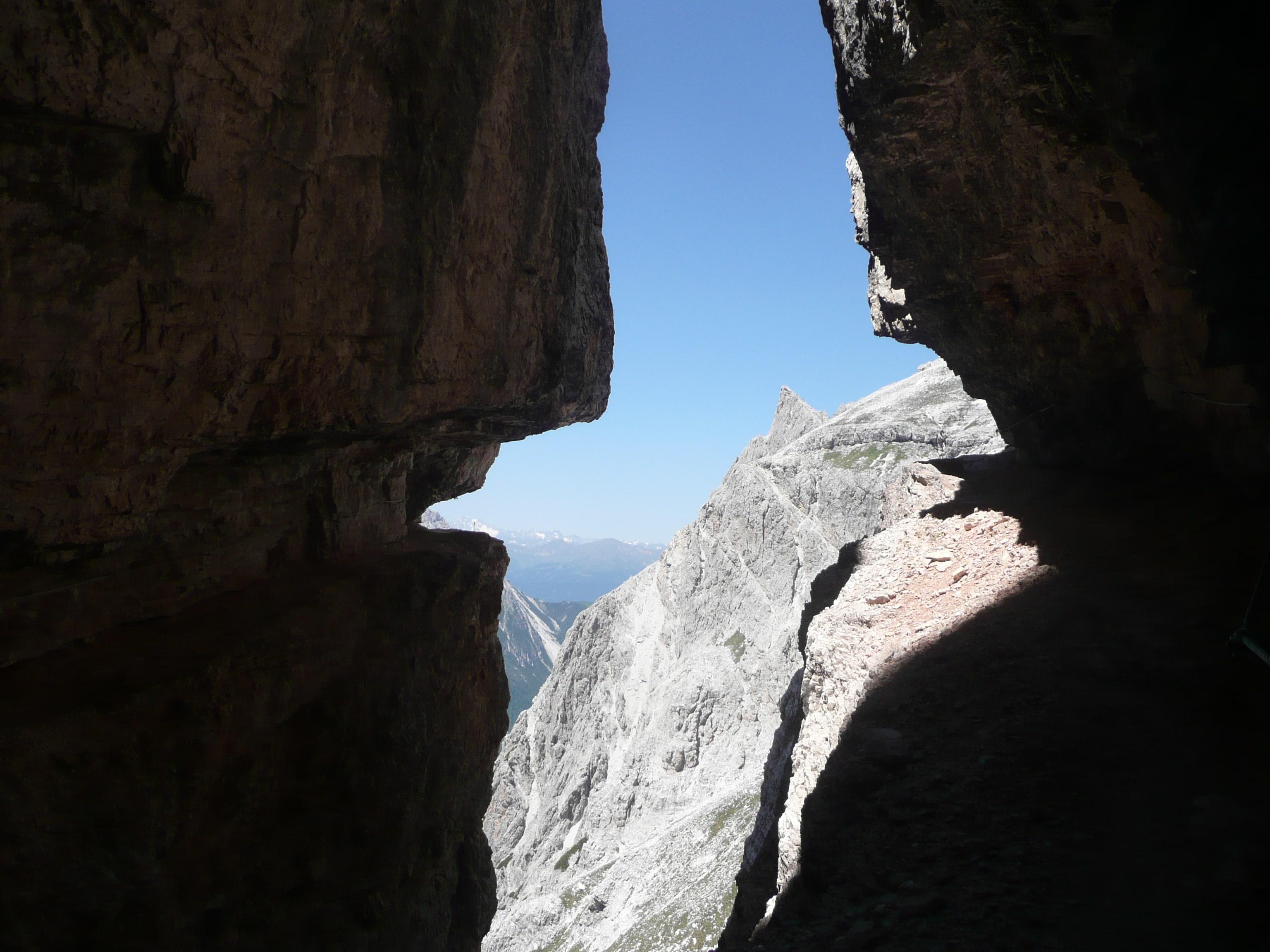 Blick vom Inneren Loch