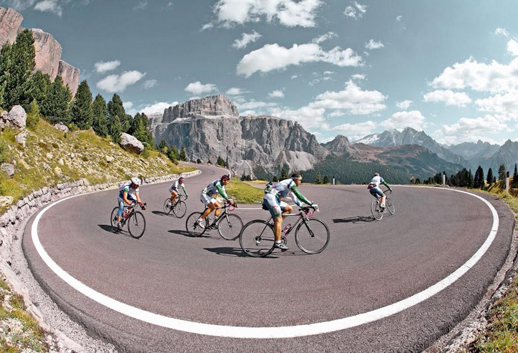 Rennradtouren im Gardatal und den Brenta Dolomiten