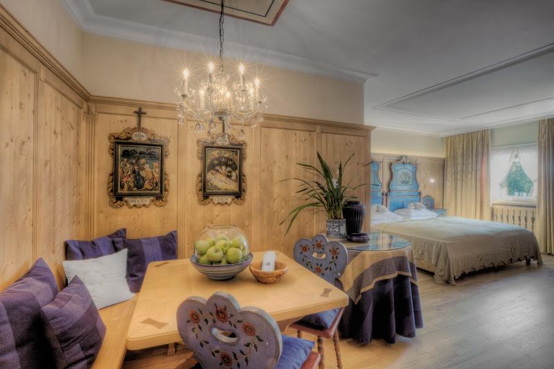 Romantik-Suite im Hotel La Perla