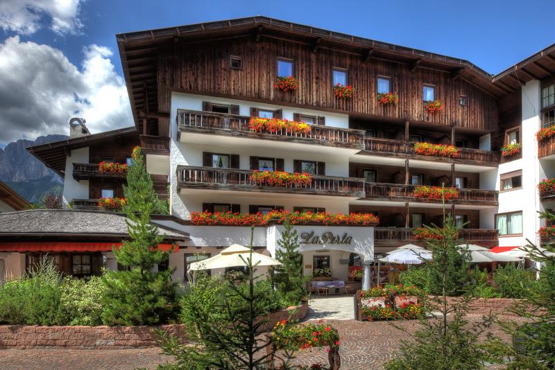 Das Hotel La Perla in Corvarta - Leading Hotel in den Dolomiten