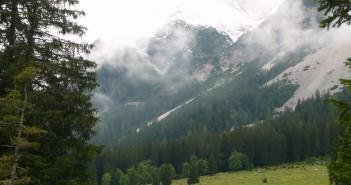 Biken in der Zugspitzarena am Wetterstein