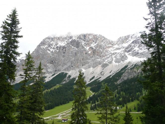 Mountainbike Tour im Wettersteingebirge
