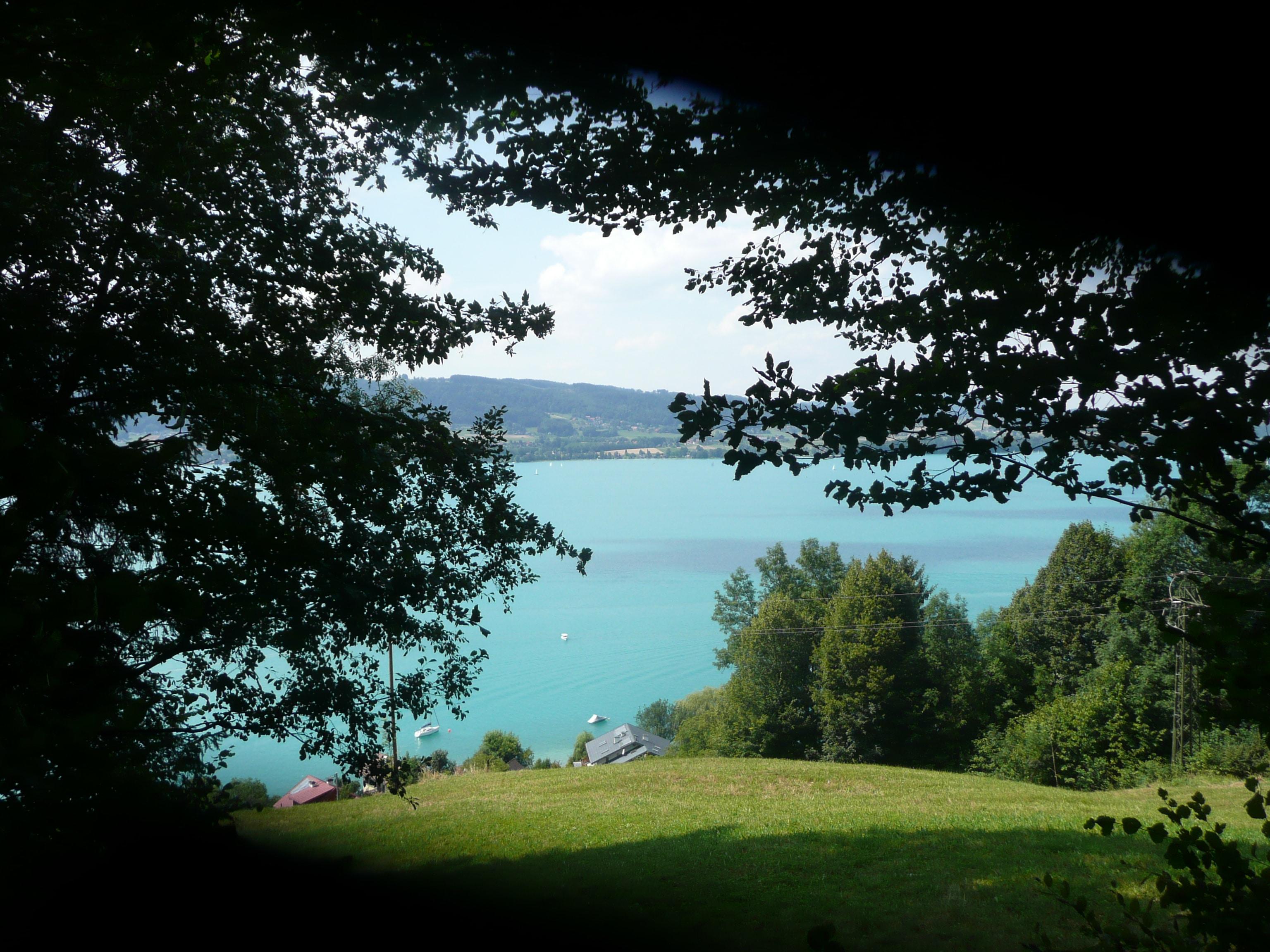 Wandern Attersee im Salzburger Land